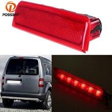 цена на High Level Car LED Red Stop Braking Warning Light Signal Rear Brake Lamps For Volkswagen Touran 2K0945087C External Lights