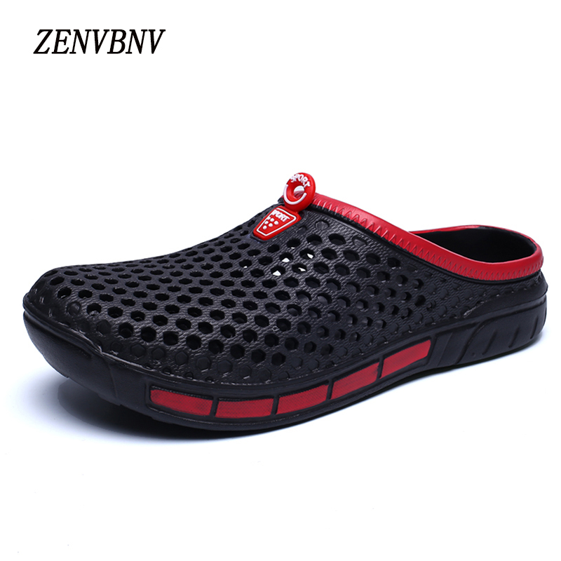ZENVBNV Men Sandals Summer Hollow Out Breathable Beach Shoes 2017 Unisex Casual Outdoor Slippers Flip Flops zapatillas hombre sandals men fashion new brand buckle mens flip flop sandals casual slippers brown summer beach sandals men shoes breathable
