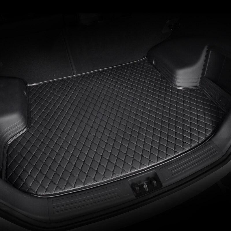 kalaisike custom car trunk mat for Volkswagen All Models polo golf 7 tiguan touran jetta CC beetle vw custom cargo liner