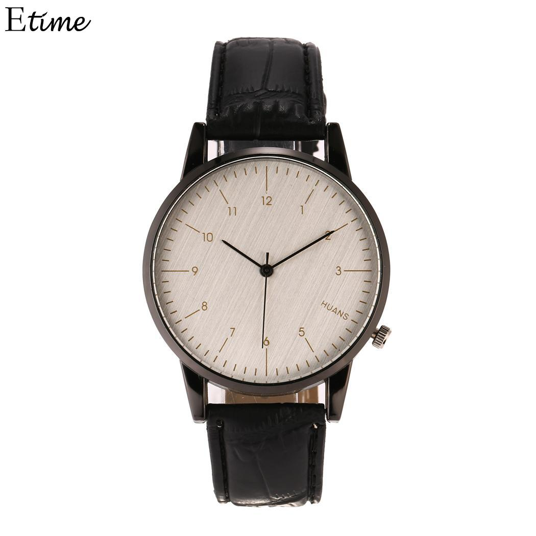 Beautiful Fanala Watch Men Women Round Fashion Pointer Buckle Quartz Watches Unisex Lovers Relogio Masculino Relogio Feminino For Sale Watches
