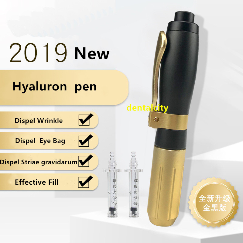 High Quality 5ml Germany Hyaluronic Pen Atomizer Hyaluron Injection Pen Wrinkle Removal For Facial Cosmetic Nursing Tools New