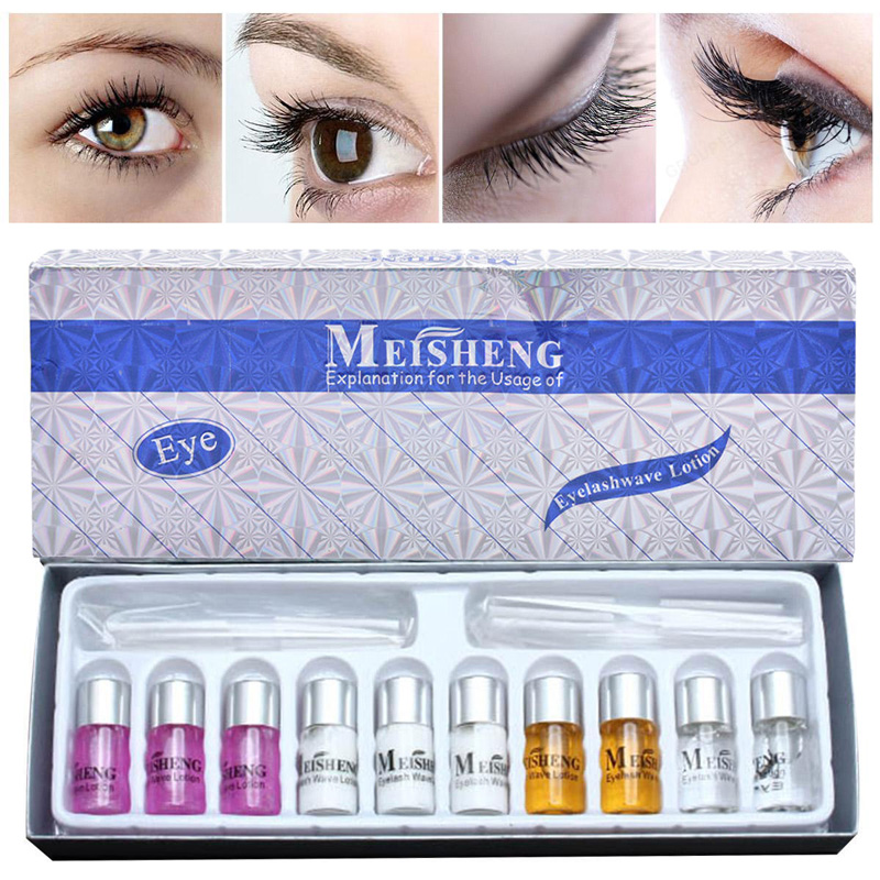 Lady Eye lash Curling Perming Curler Wave Lotion Set Cosmetics Tool eyelash perming kit for eyelashes perming curly up to 3 months eye lashes perming lotion full solution suit kit