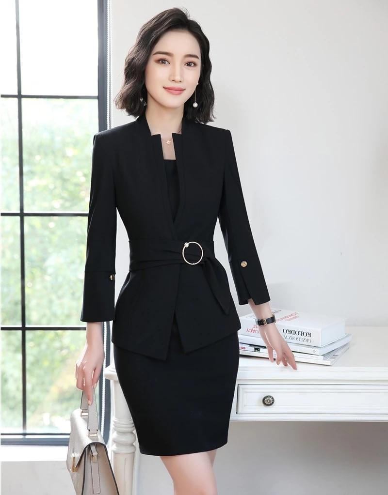 Drawing attention Korean Fashion Dress Formal