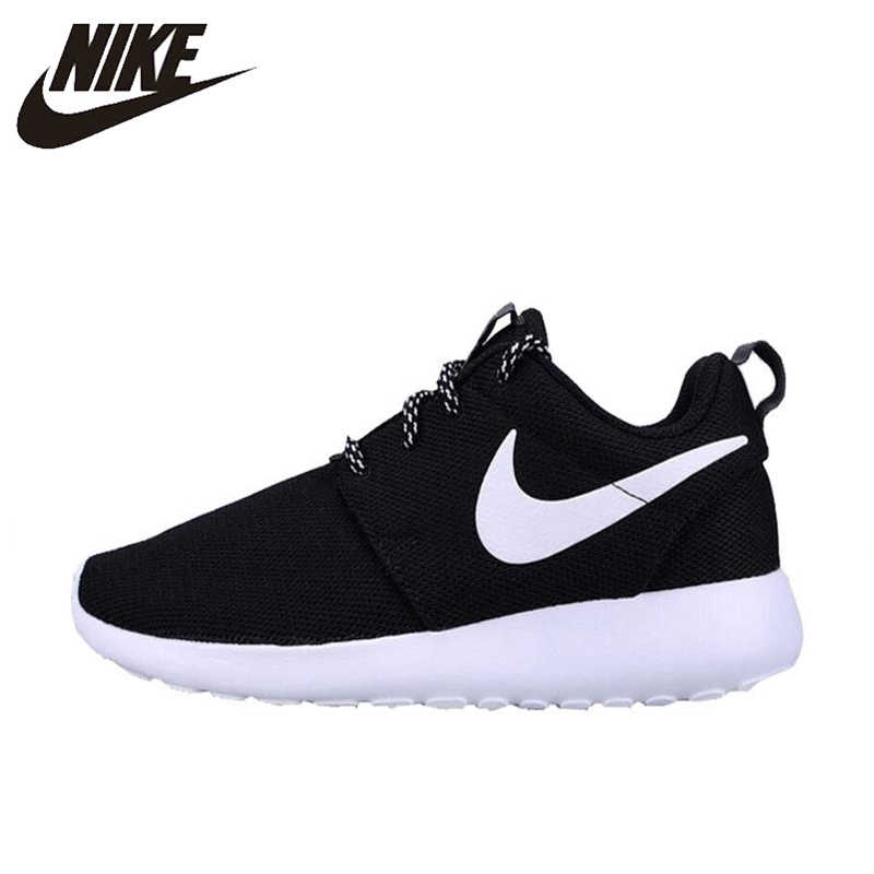 0dac1ad3ad63a Original New Arrival Authentic NIKE ROSHE ONE Women s Breathable Running  Shoes Sports Sneakers Trainers