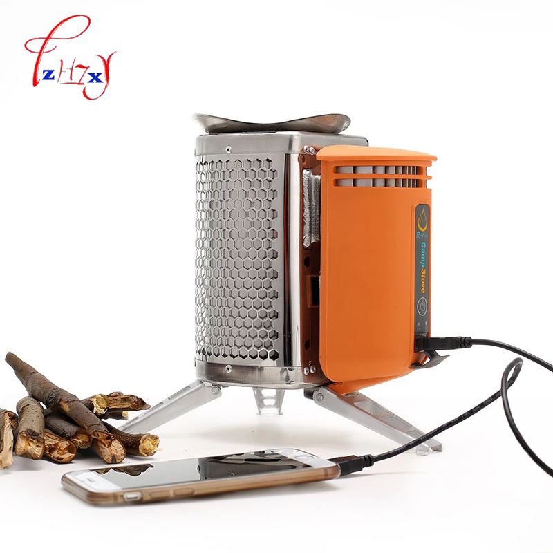 CampStove stainless steel stove with rechargeable device for wood stove Outdoor Hiking Camping backpack picnic kitchen bbq 1pc народное творчество неудачник пепе