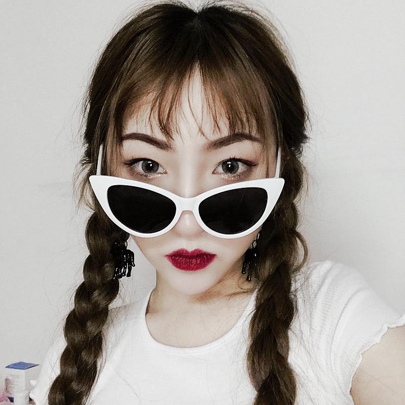 New Fashion Cat Eye Sunglasses Wanita Merek Desainer Kacamata - Aksesori pakaian - Foto 4