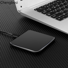 Qi Wireless Charger For Iphone X 8 Samsung Magnetic Induction Mobile Phone Fast Charging Round Pad Retail box