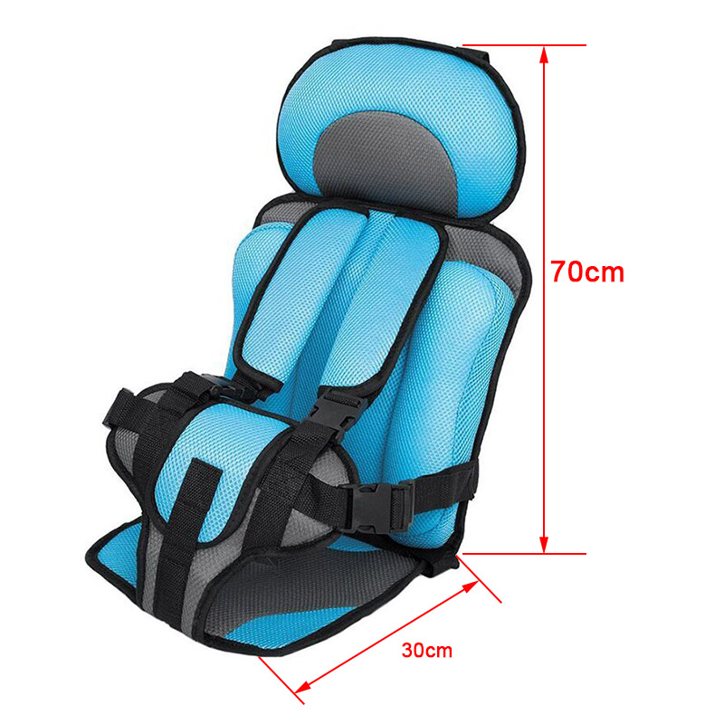 Adjustable Baby Car Seat Safe Chair Seat Mat Portable Baby Chair In Cars For 6 Months-5 Years Old Baby (8)