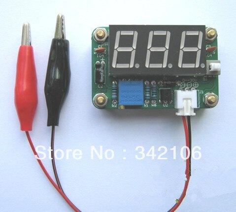 Free Shipping!!! 5pcs Voltmeter Kit Electronic Kits electronic diy