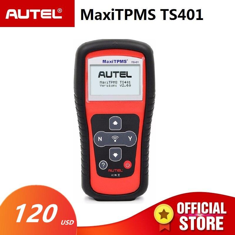 Autel MaxiTPMS TS401 шин Давление Сенсор TPMS диагностики и Услуги инструмент Читатели код Scan Инструменты