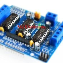 ! Motor-driven expansion board L293D motor control shield for arduino