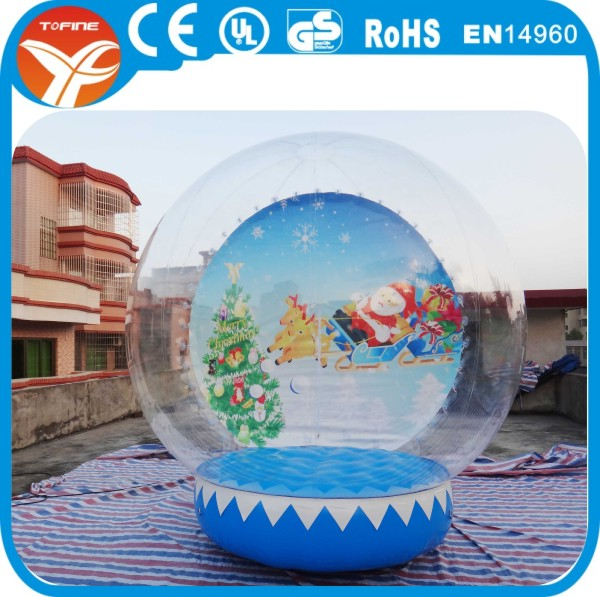 3m Inflatable Christmas Snow Globe Bubble Tent 10u0027 Promotion Tent Inflatable Globe with Air Pump & 3m Inflatable Christmas Snow Globe Bubble Tent 10u0027 Promotion Tent ...