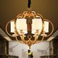Новые китайские подвесные светильники  Современная гостиная  железная спальня  китайский ресторан  вилла  простой фонарь  ya72810