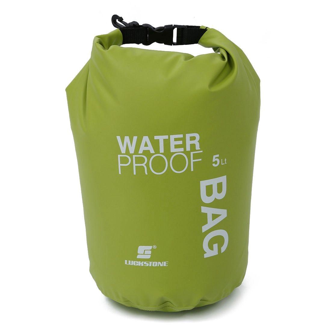 LUCKSTONE 5L Ultralight Outdoor Waterproof Rafting Dry Bag Camping Travel Kit Equipment Canoe Kayak Swimming Bags Storage