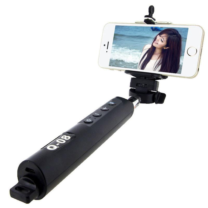 fashion bluetooth extendable handheld selfie stick monopod with zoom for ios. Black Bedroom Furniture Sets. Home Design Ideas
