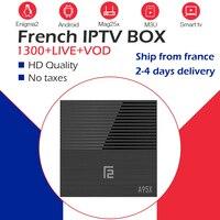 GOTIT A95X F2 TV Box+IPTV subscription NEOpro IPTV m3u IPTV France Arabic Belgium IPTV WiFi Android OS Smart TV Box 4G/32G/64G