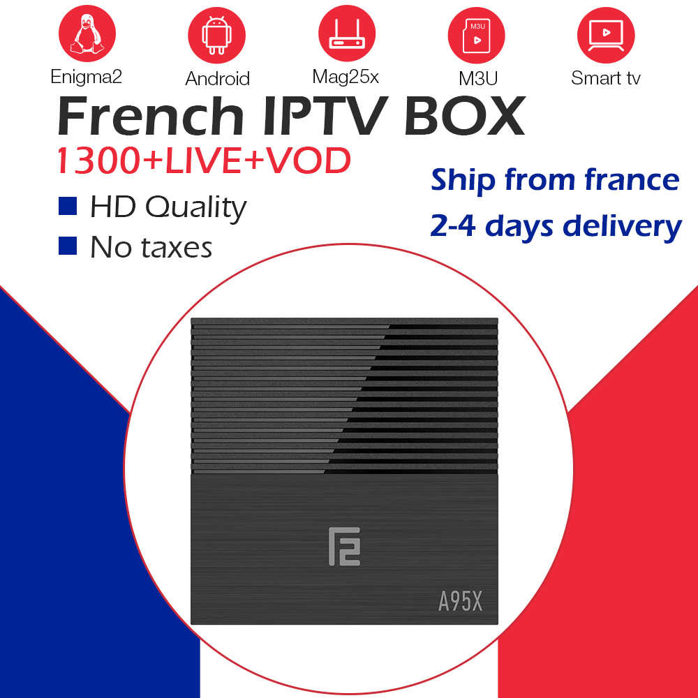 Boîtier TV GOTIT A95X F2 + abonnement IPTV NEO pro IPTV m3u IPTV France arabe belgique IPTV WiFi Android OS boîtier TV intelligent 4G/32G/64G
