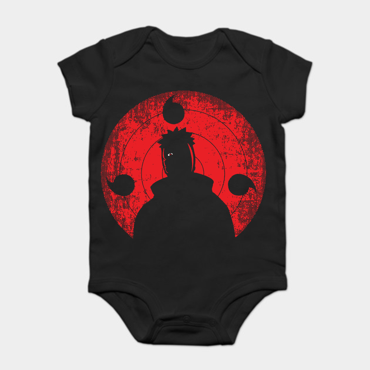 a5f879e0f7 Baby Onesie Baby Bodysuits kid t shirt Printed Cotton Short Sleeve New  Style TOBI ANIME SHIRT Naruto Shippuden-in Bodysuits from Mother   Kids on  ...