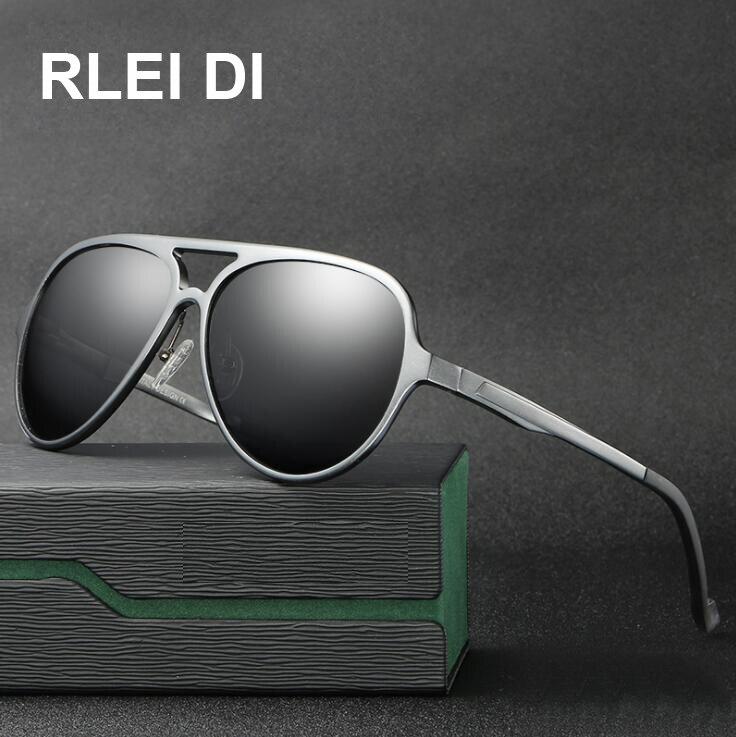 Nuevo precio Polarizado gafas de sol hombres marco de aluminio de ...