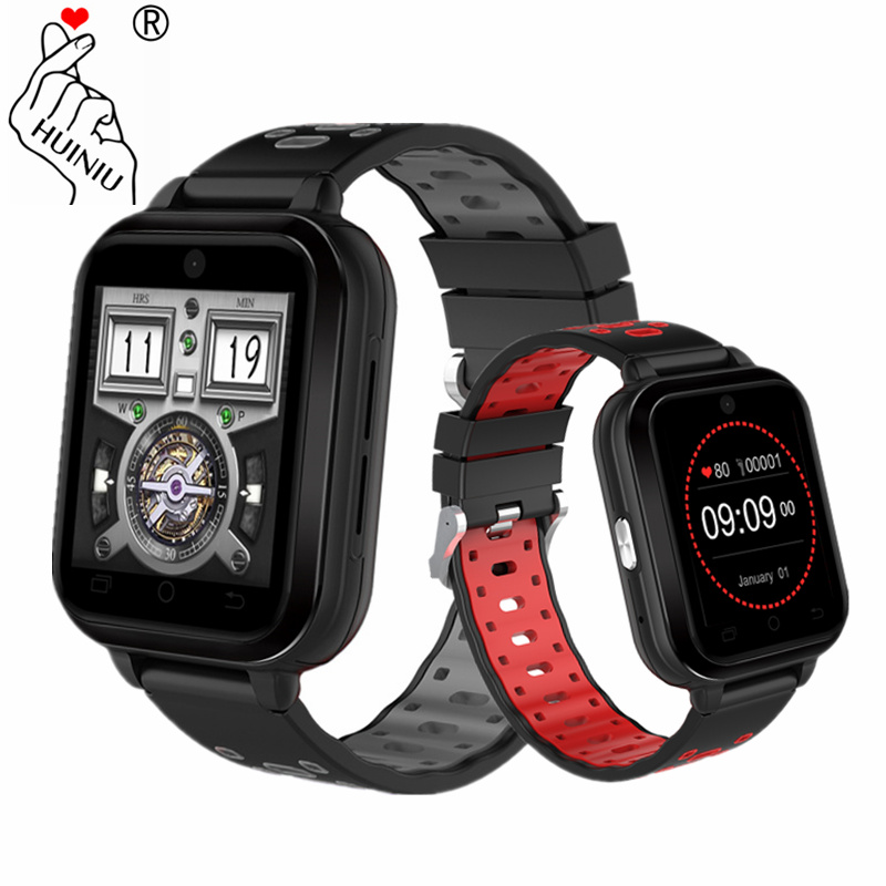 HUINIU Q1 Pro 4G Smart Watch Android 6.0 GPS 720mAh Camera SmartWatch Phone Heart Rate Monitor SIM Card Support WIFI Wristwatch kktick d6 smartwatch phone android 5 1 heart rate monitor smart watch wifi gps bluetooth 4 0 1 63 inch