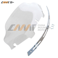 Slotted Stock Batwing Trim 6 Clear Windshield Harley Touring Electra Glide 1996 2013