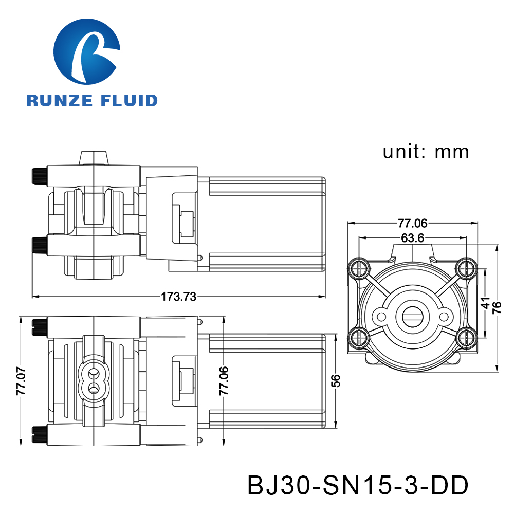 Tubing Silicon/Parmed BPT Peristaltic Liquid Pump Dosing Chemicals Laboratory - 5