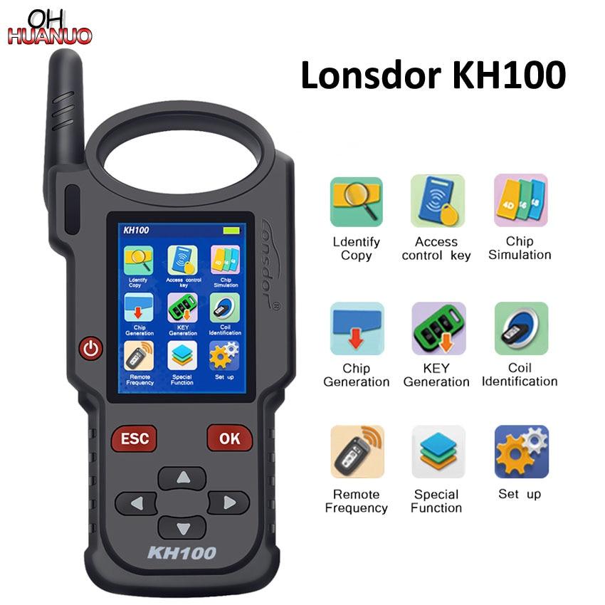 Lonsdor Original KH100 Hand Held Remote Key Programmer Generator Detect IMMO Unlock Smart Key for Toyota