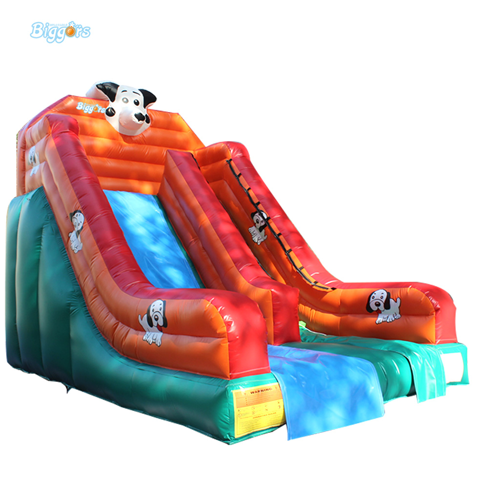 Hot Sale Factory Price PVC Giant Outdoor Water Inflatable Slide Bounce House Bouncy Slide