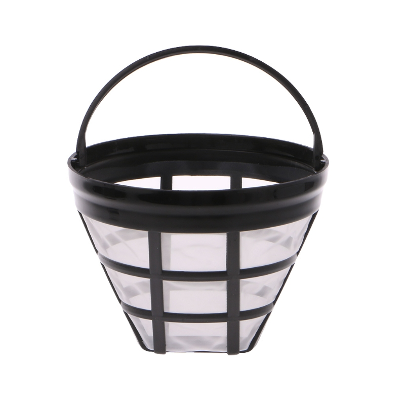 Basket:  VFGTERTE 1PC Coffee Filter Replacement Coffee Filter Reusable Refillable Basket Cup Style Brewer Tool Kitchen Coffeeware - Martin's & Co