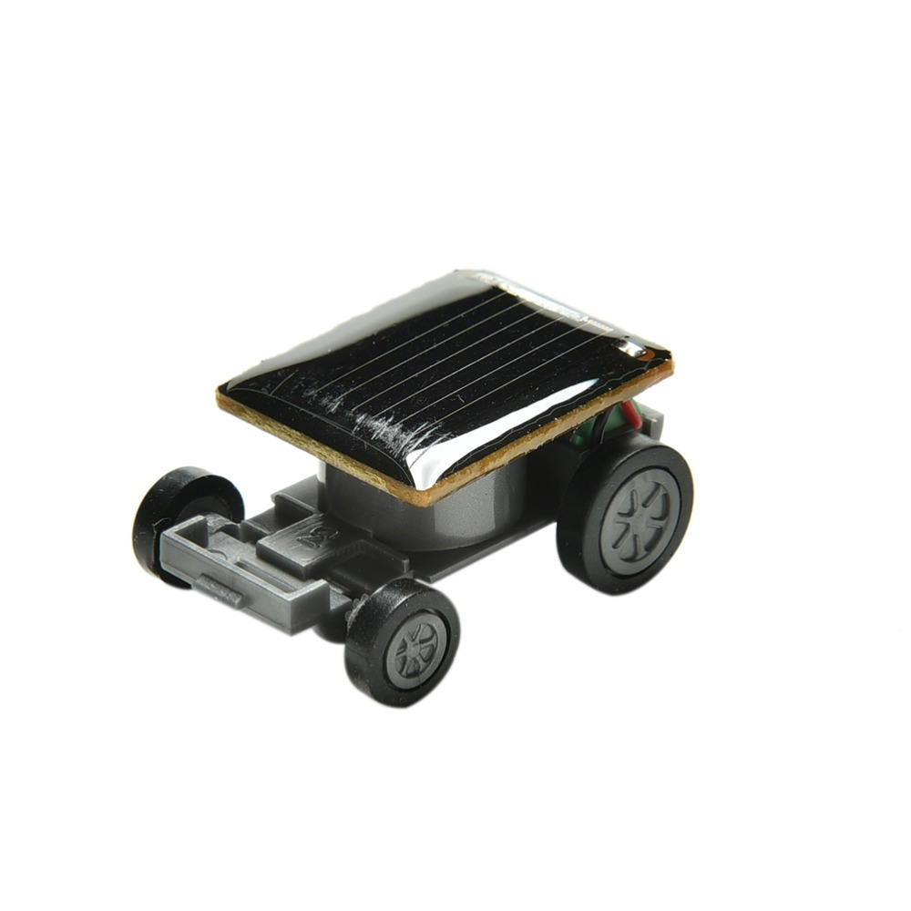 1 Pc New Arrival Car Racer Educational Gadget Children Kids Toys Solar Power Car Mini Toy