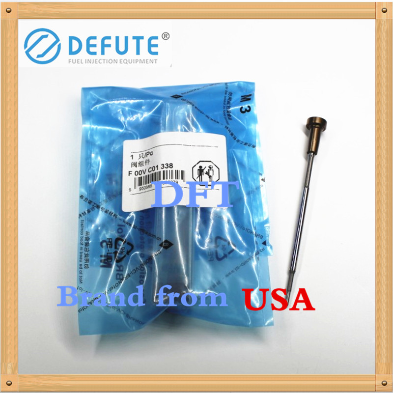 High quality Diesel fuel injector valve set F00V C01 338 common rail control valve F00VC01338 for Bosch injector