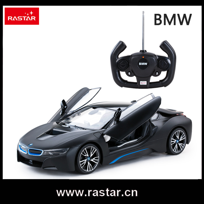 rastar licensed bmw i8 scale 114 open door by rc kids electric car rc car 71000