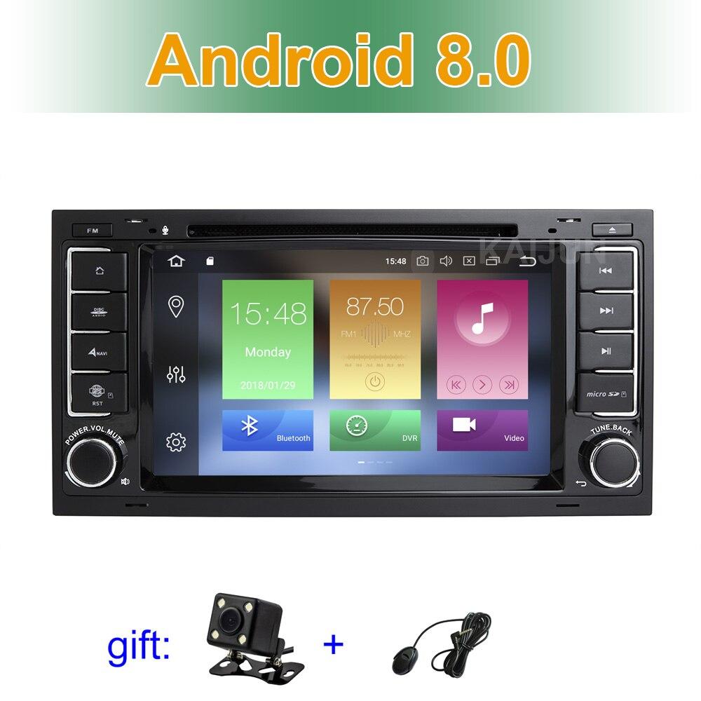 IPS dello schermo di Android 8.0 Car DVD Multimedia Stereo GPS per il VW T5 Transporter Multivan Touareg con Radio WiFi BT