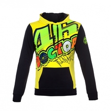 2017 new motorcycle racing car M1 MotoGp VR46 Rossi THEDOCTOR 100% cotton fashion casual hoodie sweater jacket