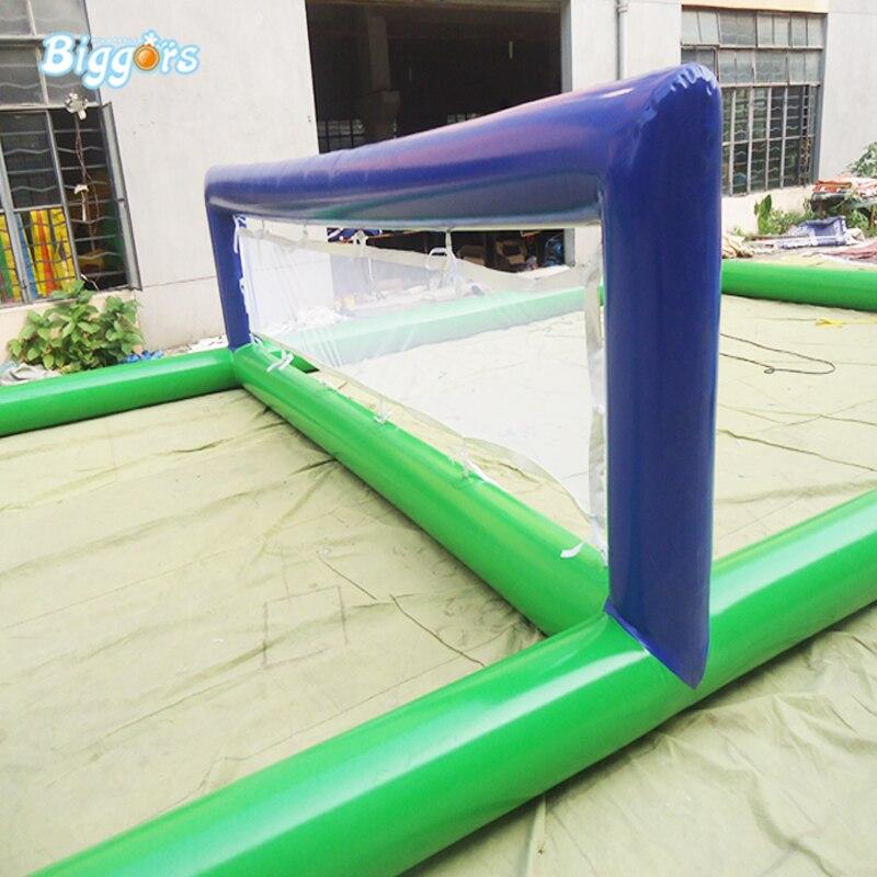 Спортивная игра надувной водный пляжный Волейбольный Корт надувной корт для продажи