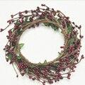 Ручной Лист Burgendy цвет Ягод Лесной Сельский Цветок Корона Daylife Свадьбы и Партии