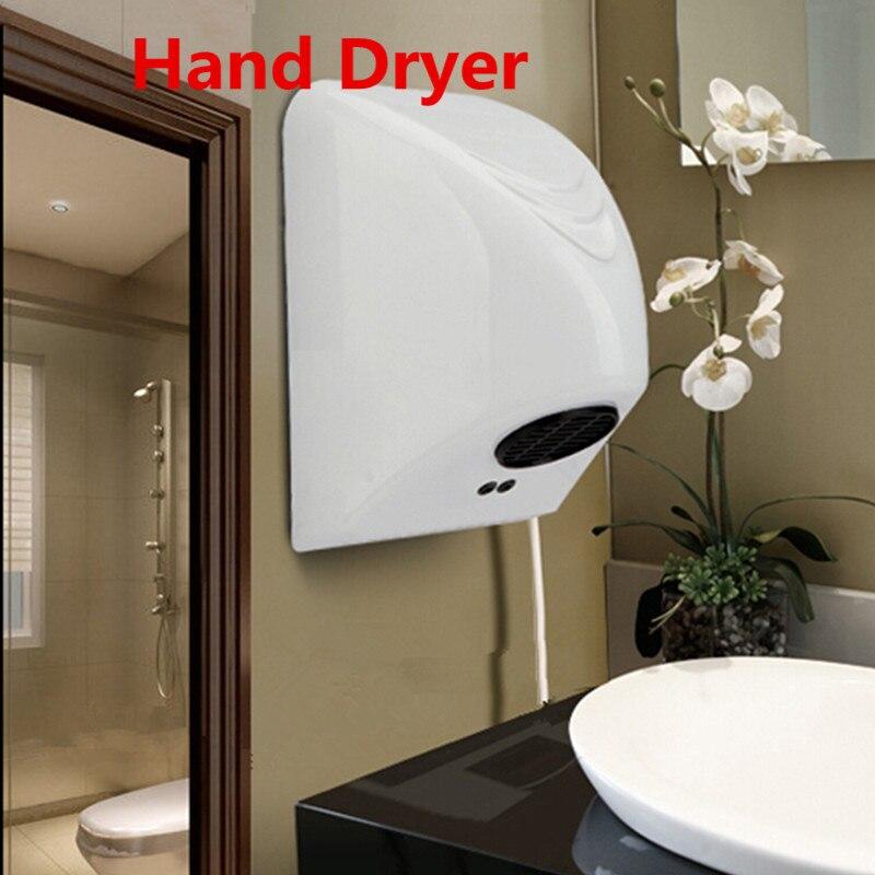 850W Hand Dryer Machine Automatic Sensor Hand-drying Machine,Bathroom Dry