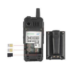 Image 4 - BiNFUL 7S+ Zello Walkie Talkie Mobile Phone IP65 Waterproof Smartphone MTK6737M Quad Core 4G LTE Android Keyboard PTT F40 Radio