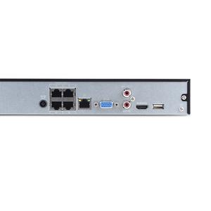 Image 4 - Dahua Englisch Original NVR2104HS P 4KS2 4 CH 4PoE Lite 4K H.265 Netzwerk Video Recorder NVR 8MP Rekord Für IP Kamera CCTV SYSTEM