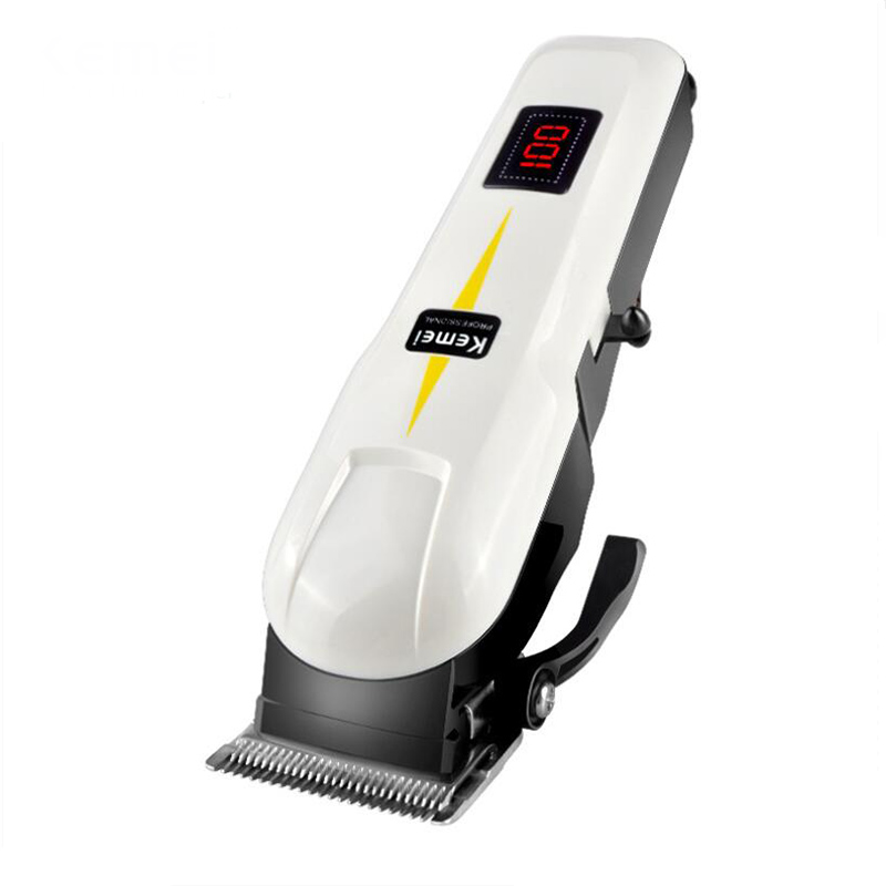 Original KM-809A Professional LCD Dispaly Electric Pet Cat Dog Hair Trimmer 110~240V Haircut Machine Animals Grooming Clippers codos 3300 pet electric nail grinder dog cat paw trimmer grooming clipper tool