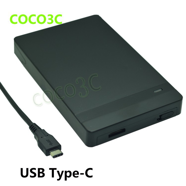 usb-c 2.5 inch sata ssd hdd enclosure