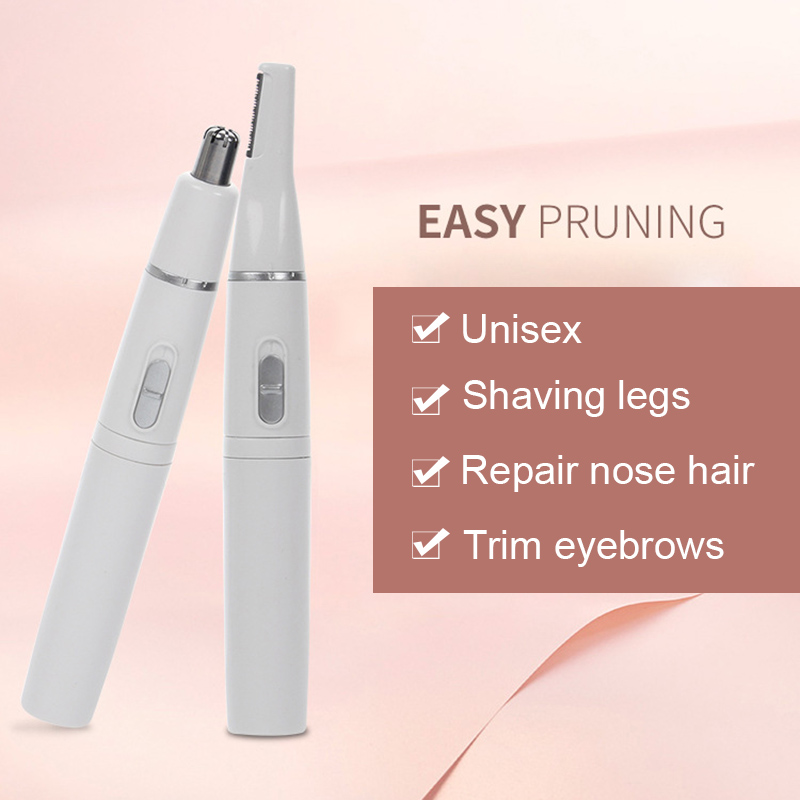 Nose Hair Trimmer Ear Face Eyebrow Hair Removal Shaving Beard Cut Shaping Razor Clipper Tool MH88