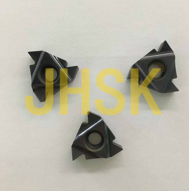 (FREE SHIPPING) 10pcs Cassar 16ER 2.0ISO Carbide Threading Insert For Turning Tool