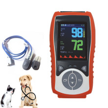 Vet Pulse Oximeter ,Handheld Veterinary Spo2 Oximeter for Animal use,Pet shop pulse oximetry Ear-clip pulse oximeter contec 08a vet digital blood pressure monitor veterinary animal nibp spo2 probe