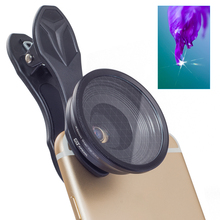 APEXEL 20X Macro Lens Star Filter Mobiele Telefoon Lens Pro Fotografie 2in1 Telefon Camera Lens voor Samsung Xiaomi iPhone X 7 s