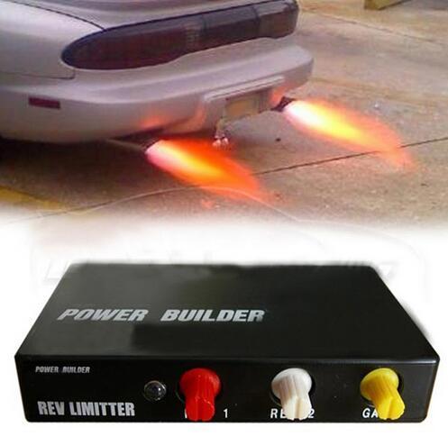 Гонки мощность Builder Тип B пламя наборы выхлопных зажигания Rev ограничитель для Nissan