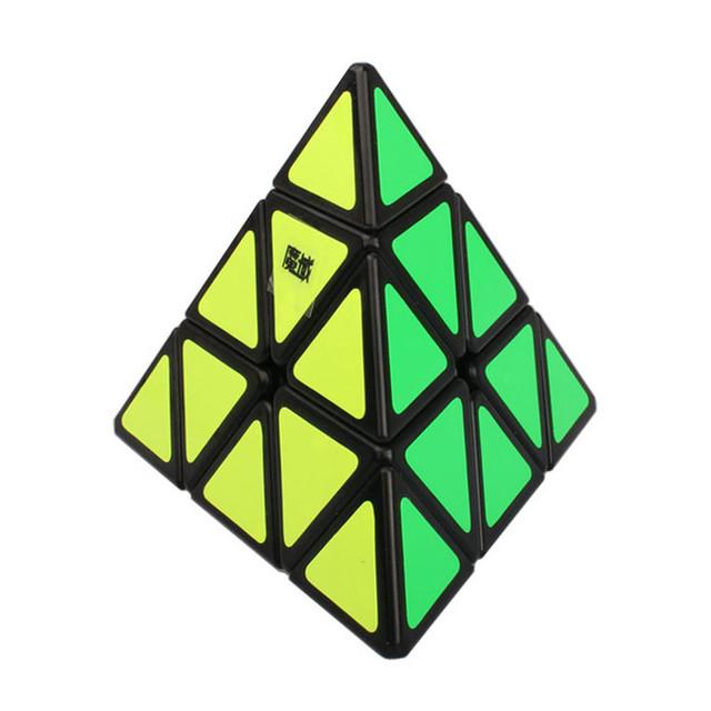 2015 a estrenar Yongjun MoYu pirámide del triángulo Pyraminx velocidad cubo mágico toque de Puzzle cubos mágicos juguetes educativos juguetes