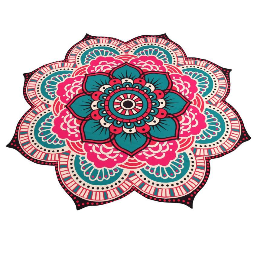HOMEGD Mandala Towel Yoga Mat Bohemian Beach Pool Home Table Cloth Yoga Mat 18Mar20 Drop Ship