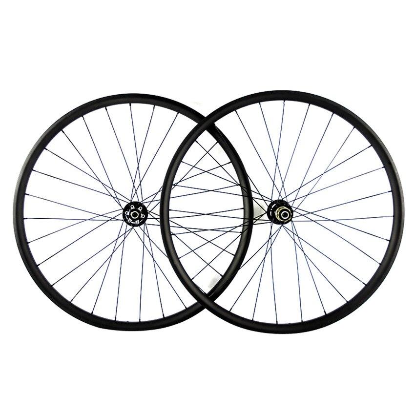 SmileTeam Carbon MTB Wheels 27.5er Mountain Bike Carbon Wheelset Width 30/35/40mm Mountain Bicycle Wheels 2 Years Warranty light bicycle roda mtb 29 carbon rear wheels