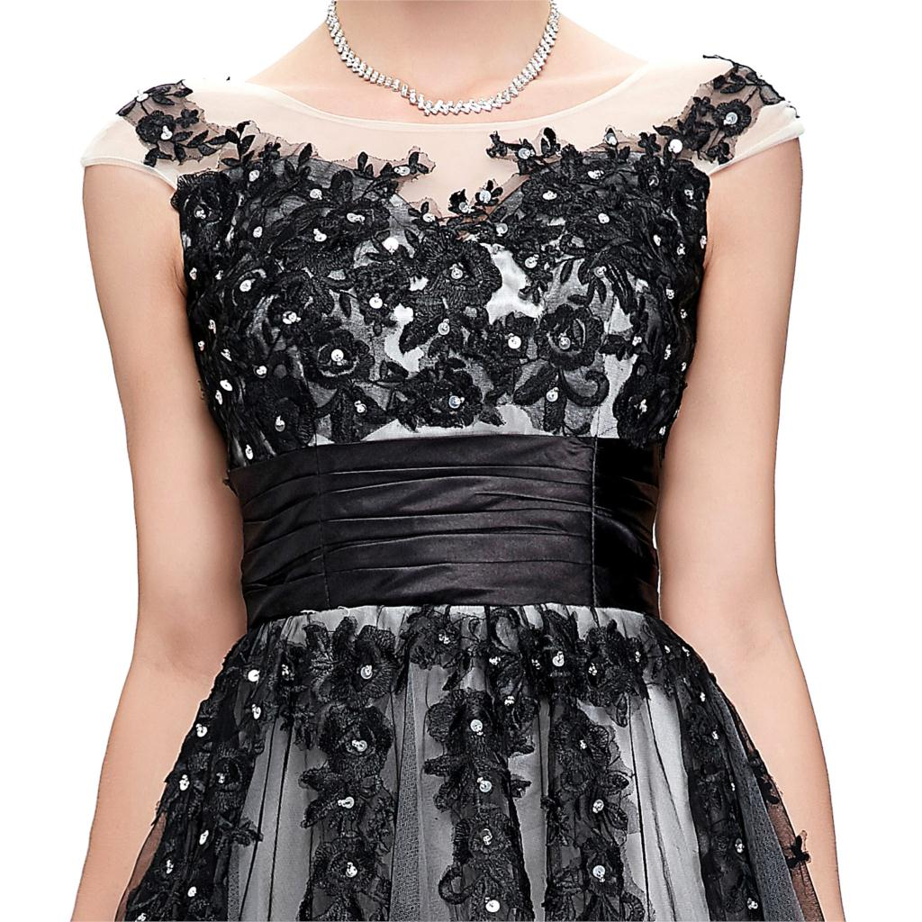 Elegant Lace Appliques Mother of the Bride Dress 7
